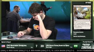 Pro Tour Battle for Zendikar Round 9 (Draft): Paulo Vitor Damo Da Rosa vs. Matthew Sperling