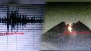 Video Gunung Merapi Luncurkan Lava Pijar, Tim BPBD Klaten Terus Lakukan Pemantauan