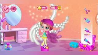 تحميل اغاني العاب بنات تلبيس باربي العاب باربي و كين باربي مكياج Candylocks Hair Salon Style Cotton Candy Hair MP3