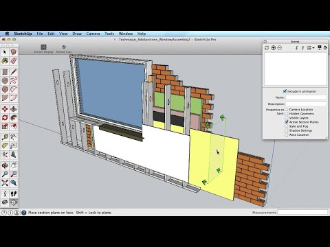 SketchUp Training Series: Advanced Sections - YouTube