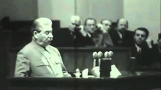 Stalin's Final Speech 1952 [Subtitled]