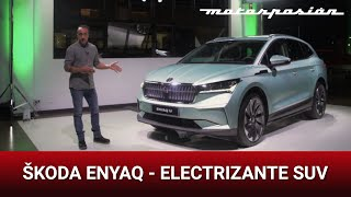 Škoda Enyaq iV 2021: electrizante SUV