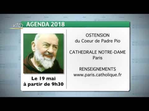 Agenda du 11 mai 2018