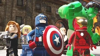 LEGO Marvel's Avengers Full Movie