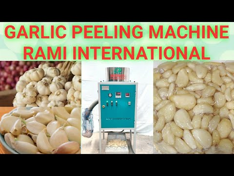 Garlic Bulb Cutter And Garlic Peeling Machine
