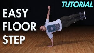Easy Floor Step (Hip Hop Dance Moves Tutorial)   Mihran Kirakosian