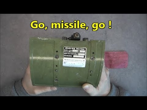 Matra R530 missile release actuator teardown