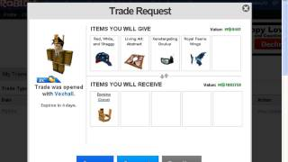 how to send trades on roblox