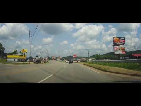 Video Driving around Ashland, Kentucky