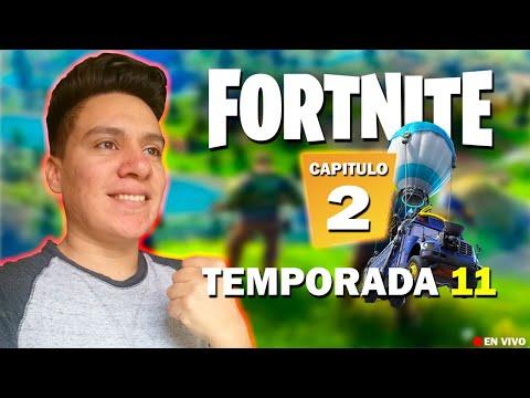 EVENTO FINAL EL FIN DE FORTNITE TEMPORADA 11 CAPITULO 2 / Esteban Gonzalez