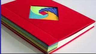 Encuadernación Con Escartivanas & Técnica De Iris Folding.
