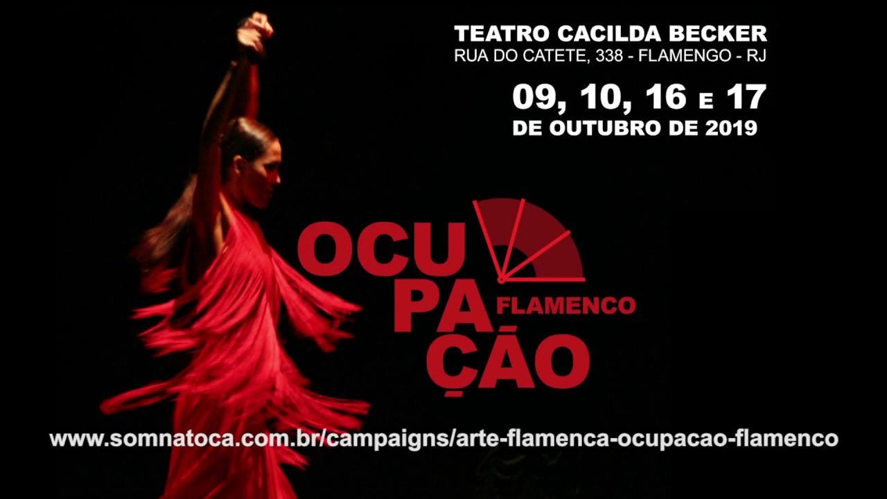 Arte Flamenca - Ocupação Flamenco no Cacilda Becker 2019