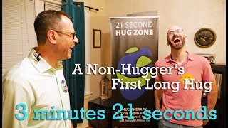 Close Encounters With A Non-Hugger - First Long Hug