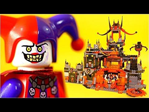 Vidéo LEGO Nexo Knights 70323 : Le repaire volcanique de Jestro