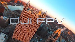 DJI FPV Drone - INCREDIBLE Cinematic Video Test!