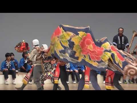 第8回ふるさと伝統芸能子ども発表会 能登島小学校 能登島の秋祭り301125