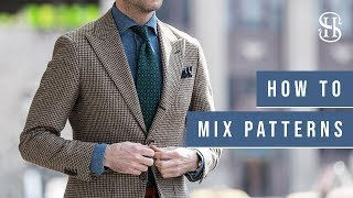 3 Simple Rules For Mixing Patterns | Pattern Mixing 101