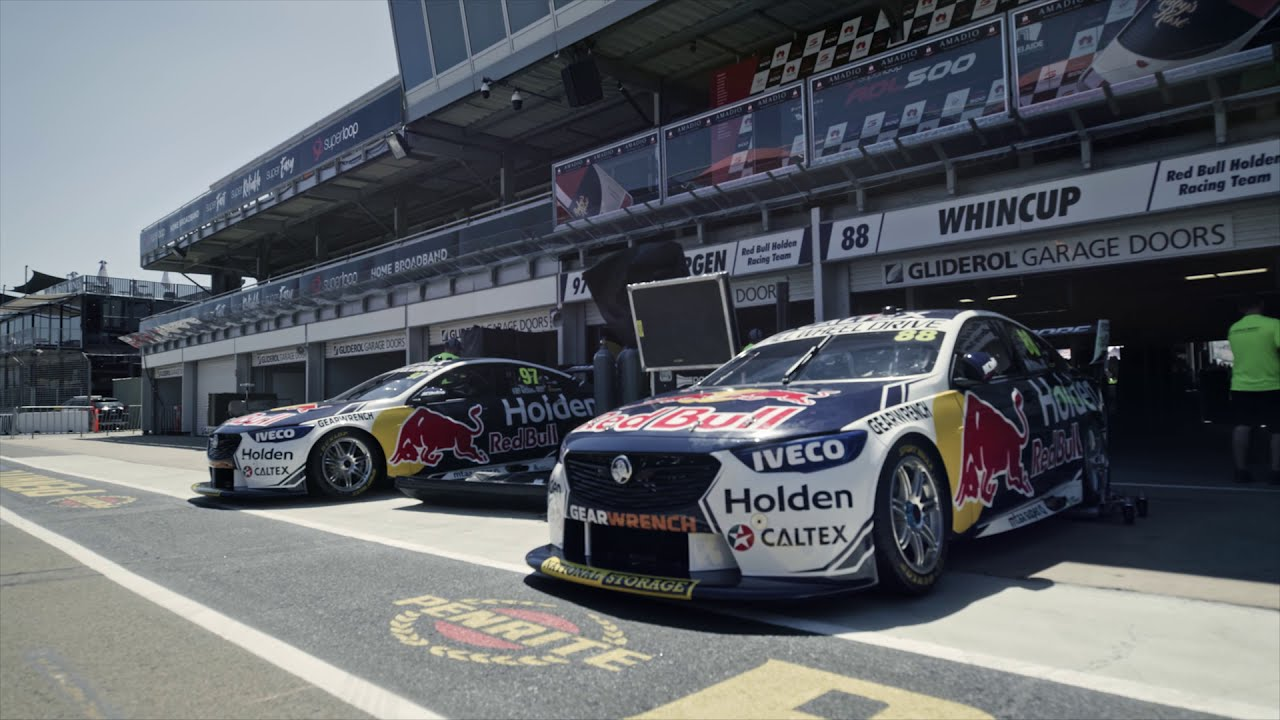 IVECO and Red Bull Holden Racing