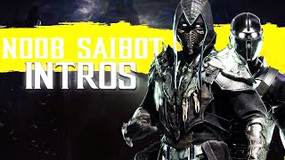Mortal Kombat 11 ALL NOOB SAIBOT Intros (Dialogue & Character Banter) 1080p 60FPS