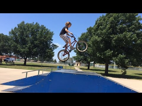 BMX - Ponca City edit with Cayden Diebold