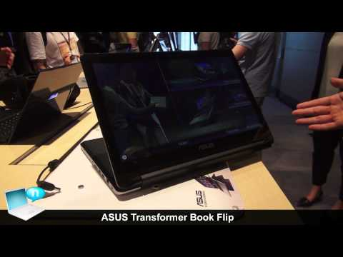 ASUS Transformer Book Flip TP550 and TP300
