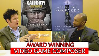 Warren interviews Wilbert Roget, Acclaimed Video Game Composer at GSC
