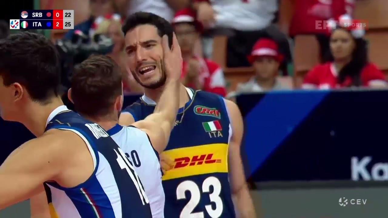 Σερβία – Ιταλία 1-3 | HIGHLIGHTS | 18/09/2021 | ΕΡΤ