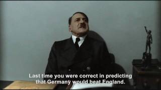 Hitler is informed Argentina will beat Germany in the World Cup