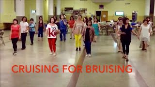 Cruising For Bruising Line Dance
