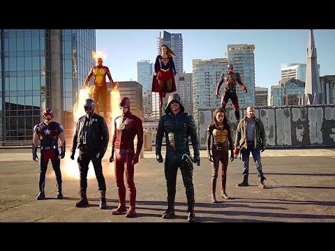 supergirl the flash arrow legends of tomorrow invasion cross
