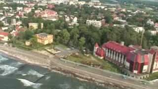 preview picture of video 'Зеленоградск  ( немецкий Сranz ) Наш город!'