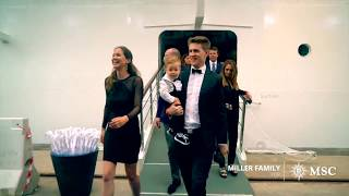 MSC Seaview: Riesenspaß für Familie Miller an Bord