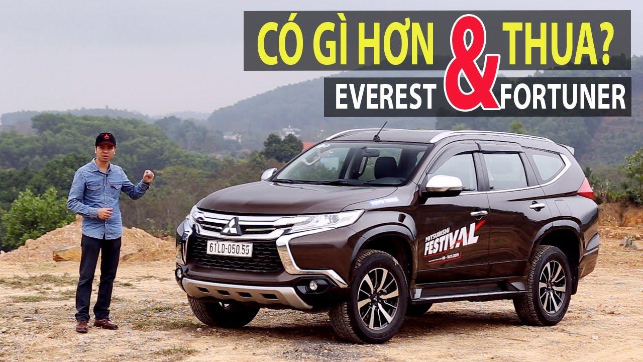Đánh giá Mitsubishi Pajero Sport diesel AT - Có gì hơn và thua Everest & Fortuner? (ĐT: 0948.960.069-Ms.Nhung)