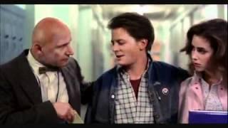 """You're a Slacker!"" Back to the Future- Mr. Strickland Scene"