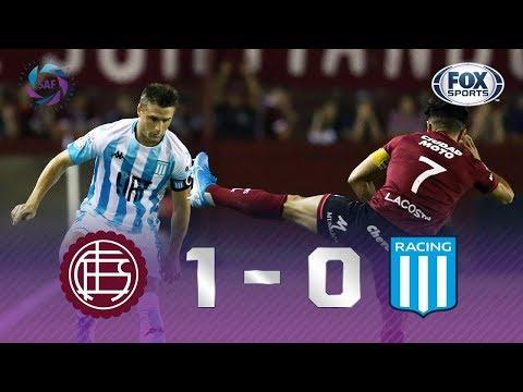 VITÓRIA NA RAÇA! Veja os melhores momentos de Lanús x Racing pela Superliga Argentina