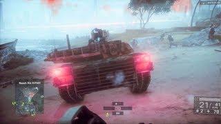 Escape Mission - Tanks Battle - Battlefield 4