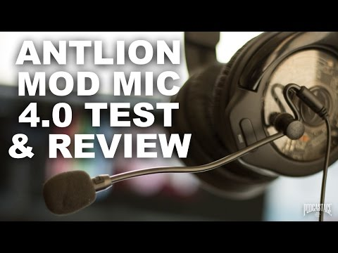 Antlion ModMic 4 Omni & Unidirectional Review / Test