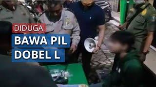 Seorang Pria di Surabaya Diinterogasi Petugas PSBB, Diduga Bawa Pil Dobel L