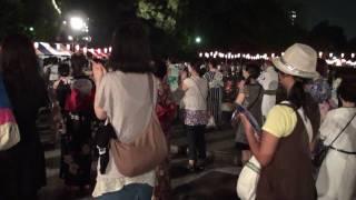東京五輪音頭・盆踊り 2009年版(日比谷公園・大盆踊り大会 090821)
