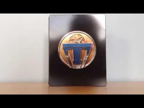 Disney's Tomorrowland: A World Beyond Zavvi Exclusive Blu-ray Steelbook Unboxing **SOLD OUT**