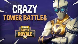 Crazy Tower Battles!!   Fortnite Battle Royale Gameplay   Ninja