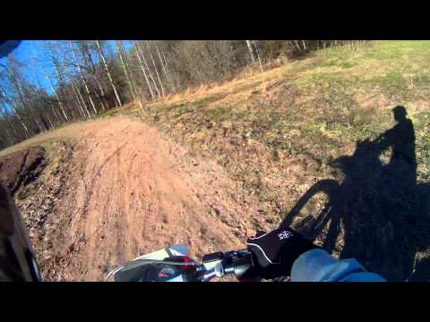 Derbi Senda Baja 125cc - Offroad riding