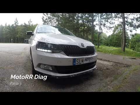 MotoRR Diag - Škoda Fabia 3 - Denne svietenie LED aktívne so smerovým signálom