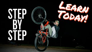 How-To Wheelie A Mountain Bike EASY - Beginner Or Advanced! Learn TODAY!
