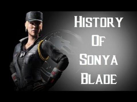 History Of Sonya Blade Mortal Kombat X