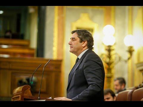 Intervención de José Ignacio Echániz en la sesión de control al Gobierno en el Congreso.