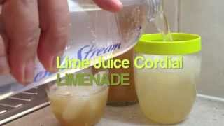 Lime Juice Cordial Video Recipe Cheekyricho Thermochef