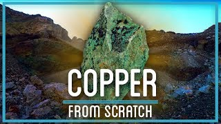 From Rock to Copper Metal