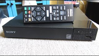 Sony BPD-S1700   Blu-Ray and DVD Player   Demo and Review and Comparison