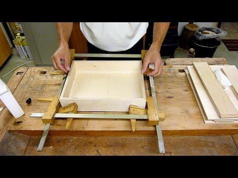 Schubladen mit Schubladenkasten selber bauen, machen, basteln, anfertigen, DIY, Drawer, Schublade